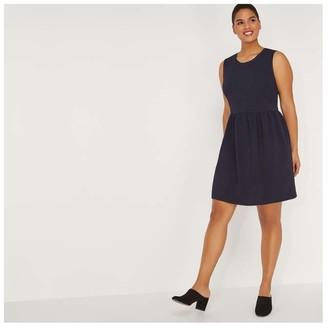 Joe Fresh Women+ Sleeveless Pebble Dress, JF Midnight Blue (Size 3X)