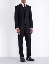 Thom Browne Tipped regular-fit wool and mohair suit