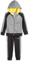 Puma Little Boys' 2-Pc. French Terry Hoodie & Pants Set