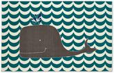 Mohawk Home Aurora Oh Whale 5-Foot x 8-Foot Area Rug in Blue