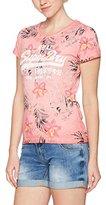 Superdry Women's Vintage Logo Hibiscus Overdyed T-Shirt
