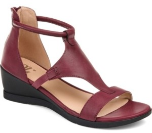 Journee Collection Women's Trayle Sandal Wedges Women's Shoes
