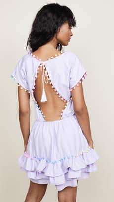 Peixoto Nissi Pom Pom Dress
