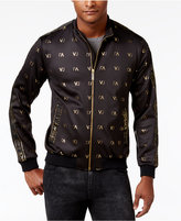 Versace Men's Zip-Front Logo Jacket