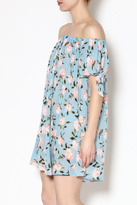 Blu Pepper Blue Floral Dress