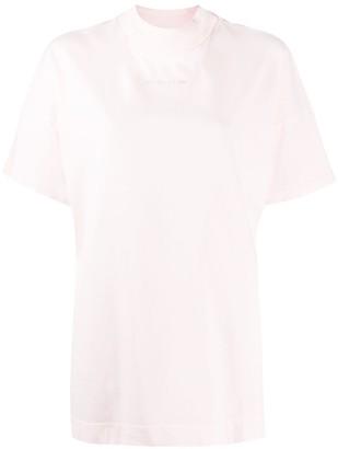 Alyx oversized mock neck T-shirt