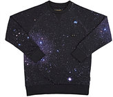 Munster Galaxy Cotton French Terry Sweatshirt-NAVY