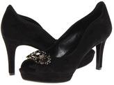 Nine West Avara (Black Suede) - Footwear