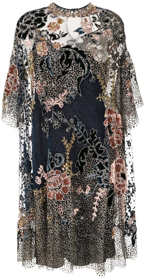 Biyan Embellished Beaded Dress