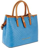 Dooney & Bourke Claremont Woven Embossed Perry Satchel