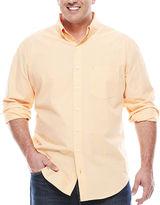 Izod Long-Sleeve Mini-Check Woven Shirt - Big & Tall