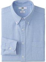 Uniqlo Men's Oxford Slim-Fit Long Sleeve Shirt