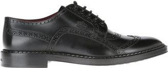 Dolce & Gabbana Full Brogue Derby Shoes