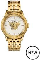 VERSACE Versace Palazzo Empire Gold 3D Medusa 43mm Dial Gold IP Stainless Steel Bracelet Mens Watch