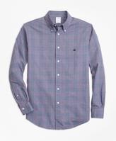 Brooks Brothers Regent Fit Brushed Oxford Glen Plaid Sport Shirt
