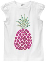 Crazy 8 Sparkle Pineapple Tee