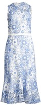 Shoshanna Anamaria Lace Embroidered Dress