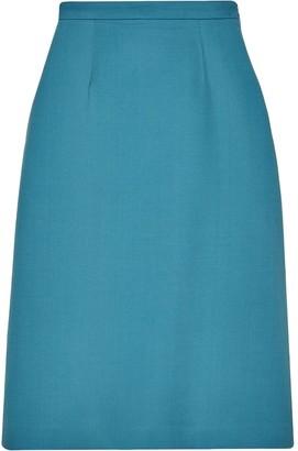 Gucci MDCCXXXIV print midi skirt