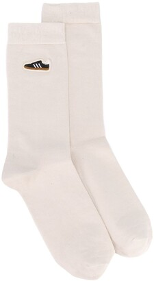 adidas Embroidered Sneakers Socks