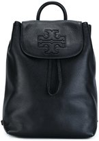 Tory Burch logo patch backpack