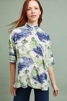 WHIT Silk Reve Cross-Placket Shirt