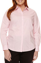 Liz Claiborne Long-Sleeve Shirt - Plus