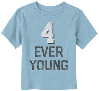 Fifth Sun Boys' Tee Shirts LT - Light Blue '4 Ever Young' Tee - Toddler & Boys