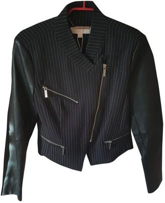 MICHAEL Michael Kors Black Leather Jacket for Women