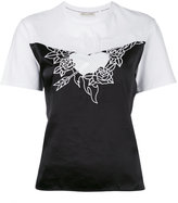 Each X Other embroidered heart contrast top