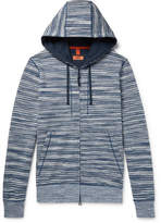 Missoni Space-Dyed Loopback Cotton-Jersey Zip-Up Hoodie