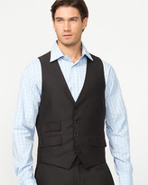 Le Château Tonal Herringbone Contemporary Fit Vest