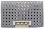 Zac Posen Earthette Microgrommet Leather Card Case
