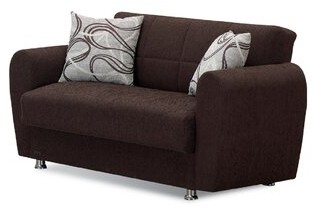 """Thumbnail for your product : Winston Porter Yatton 61"""" Round Arm Loveseat"""