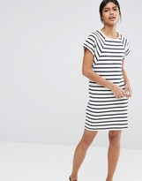 Selected Natali Dress in Striped Jersey
