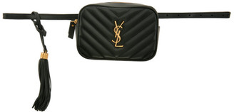Saint Laurent Green Lou Belt Bag