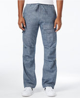 Sean John Men's Pleat Pocket Flight Cargo Pants, Only at Macy's