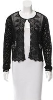 Christian Dior Cropped Sweater Cardigan