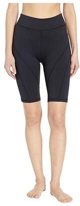 FP Movement Biker Baby Shorts (Black) Women's Workout