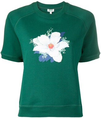 Kenzo x Vans short sleeve graphic-print sweatshirt