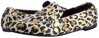 AGL Moccasin Serval (Off-White) Women's Shoes
