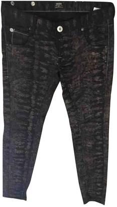 Rare Metallic Cotton Trousers for Women