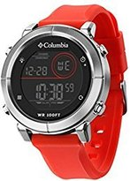 Columbia Recruit Digital Chronograph Men's Watch 30M WR Scout CT014-810 - Red