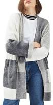 Topshop Women's Patchwork Cardigan
