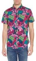 Bonobos Slim Fit Floral Print Sport Shirt