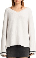 AllSaints Daria V-Neck Sweater
