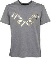 N°21 Metallic Print T-shirt