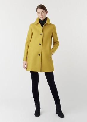 Hobbs Fia Wool Blend Coat