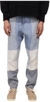 Vivienne Westwood Oversize Check Linen Alcoholic Trouser