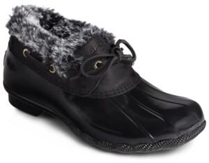 Sperry Women's Saltwater Eyelet Duck Boots Women's Shoes