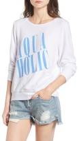 Wildfox Couture Women's Aquaholic Sweatshirt